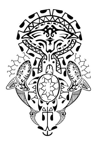 Maori Tattoo Braço Polinésia kirituhi   Flickr - Photo Sharing!