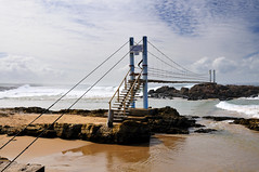 Suspension bridge, Mazeppa Bay