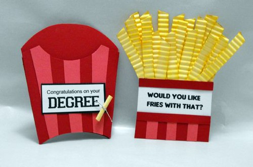 Finalist 3: Belinda Chang Langes Do You Want Fries With That Pocket Card