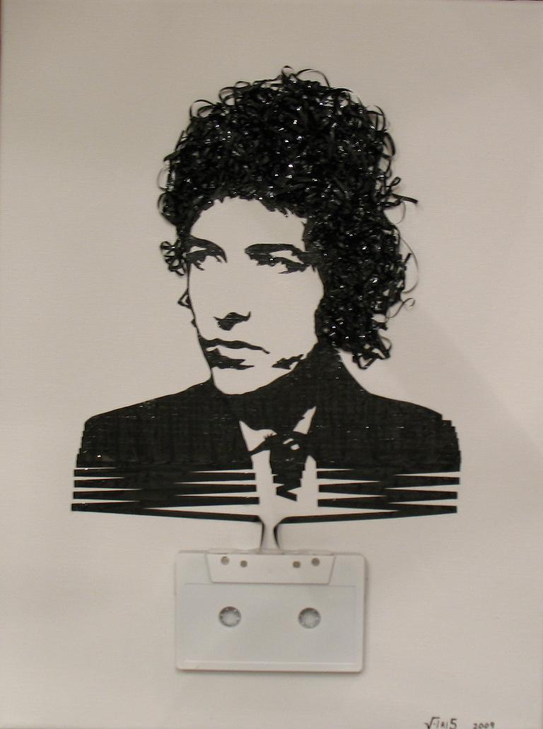 Retrato de Bob Dylan