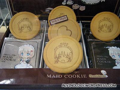 Maid cookies