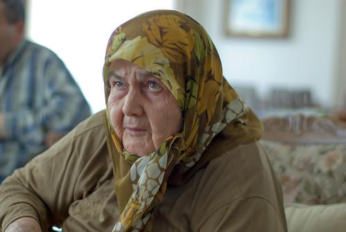 grandma portrait, pentax k10d, istanbul