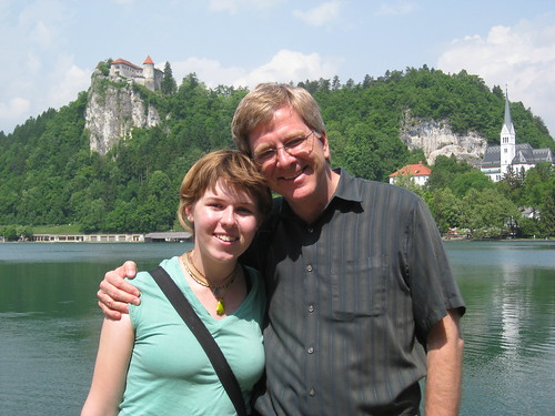 Me and Rick Steves by juliannedodds.