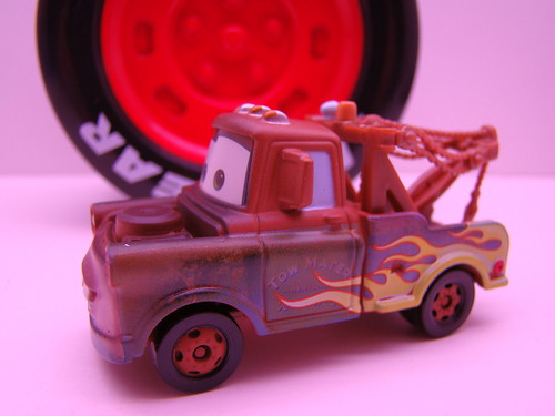 Tomica flamed mater