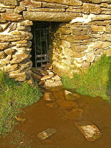Entrance northern passage