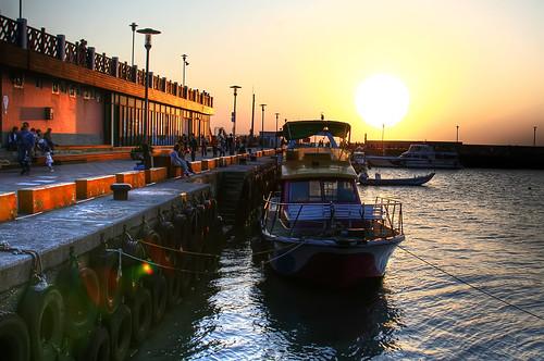 Tan Shui/Tamsui Harbor