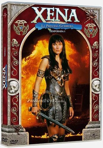 xena la princesa guerrera en dvd por ti.