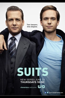 Suits poster hit the interweb today...