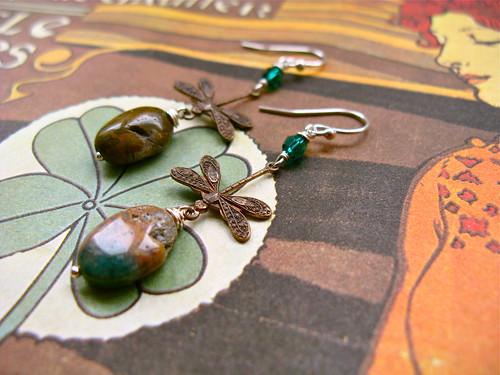 Set in Stone earrings