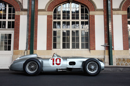 Mercedes W196 R by Martin  Vincent.