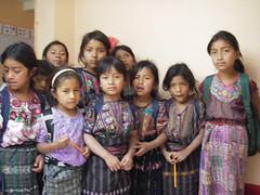 Tierra Linda Mayan school girls