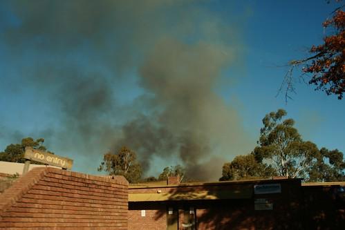 Bridgewater Fire, over CFS Station