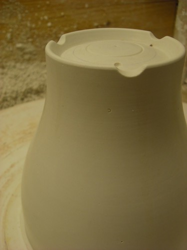The finished positive, waiting to get turned into a slip casting mold!
