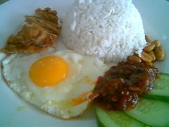 Sri Menanti's nasi lemak