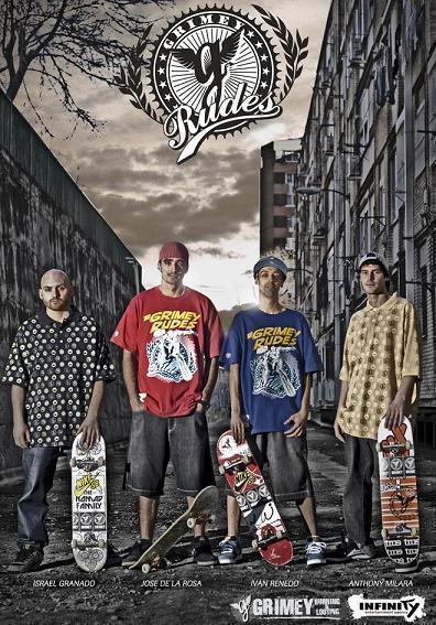 Grimey rudes skate crew
