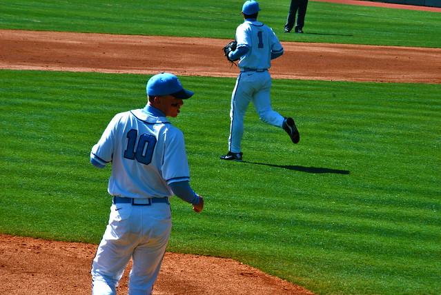 baseball: duke @ carolina, game 2