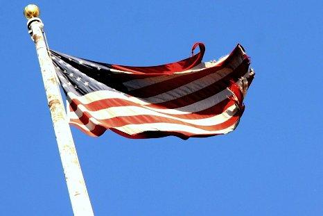 American flag at 448mm and post-Bush :P