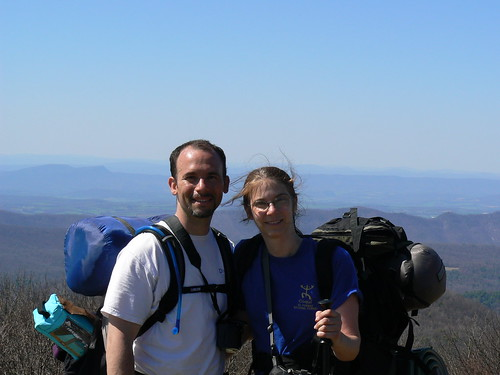 Backpacking - Friday - Cold Mountain - Ryan and Vicky