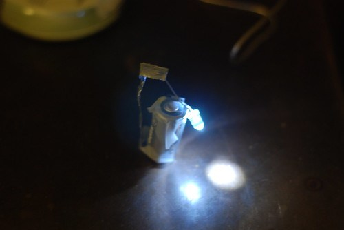 Kindle LED Prototype B construction