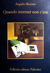 Angelo Morino, Quando internet non c'era, Sellerio 2009, ill. di cop.: Begonia e libro, di Francesco Trombadori (part.)