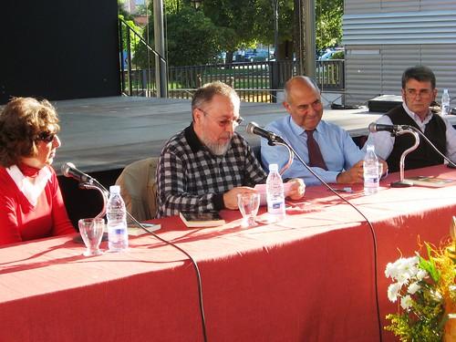 Jose Antonio Marina Feria del Libro Cordoba 2009 en la caseta Victoria.