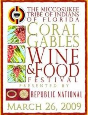 CORAL GABLES WINE & FOOD FESTIVAL