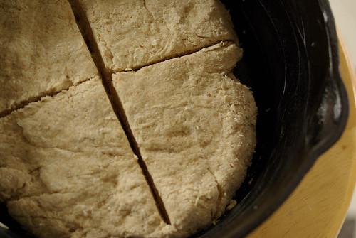 soda bread in the raw