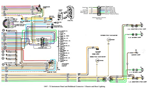 small resolution of color wiring diagram finished the 1947 present chevrolet gmc 67 c10 pickup wiring a 67 c10