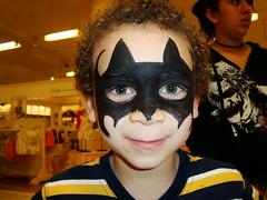 Aidan as Batman