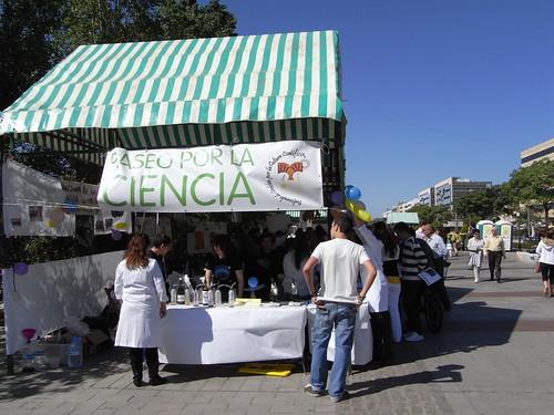 Paseo por la Ciencia Cordoba 2009 en el Paseo de Córdoba.