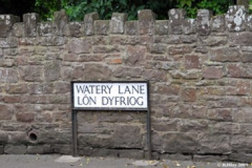 Time to Head up Watery Lane