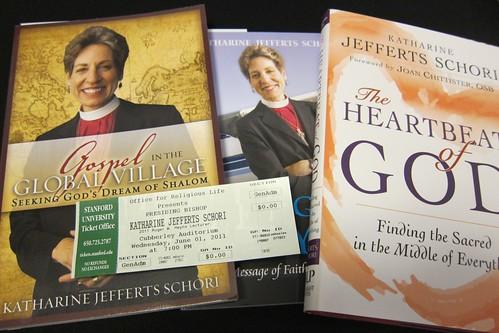 Bishop Katharine Jefferts Schori's books
