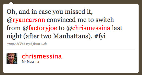 Twitter / Mr Messina: Oh, and in case you missed ...