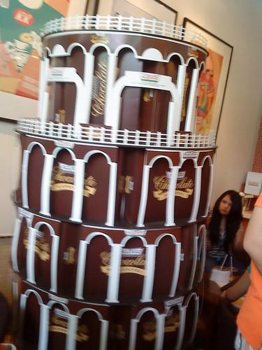 The Chocolate Tower of Pisa