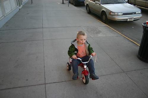 collin on the bike