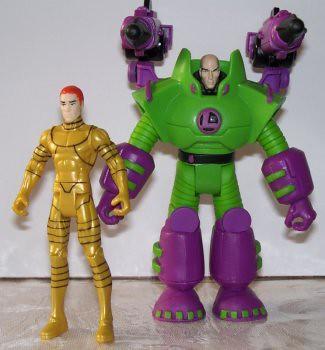 Alex Luthor and Lex Luthor: Together Again