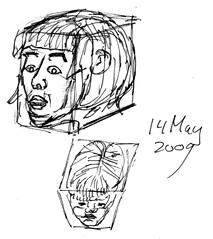 Drawing Unknown Faces, part 144 (h)
