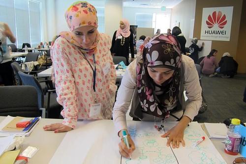 TechWomen at Huawei