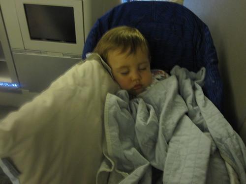 Hudson's own bed