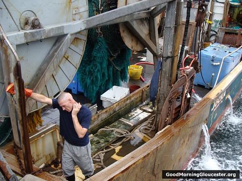 Darrin aboard The Jocka