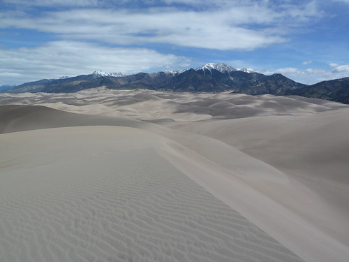 View from High Dune at Great Sand Dunes National Park