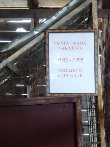 """""""Sarajevo city gate"""""""