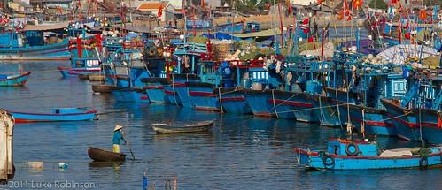 Nha Trang Fishing Harbour