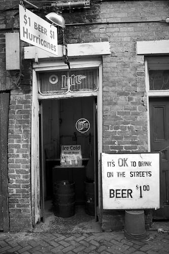 Dollar Beer in the Quarter