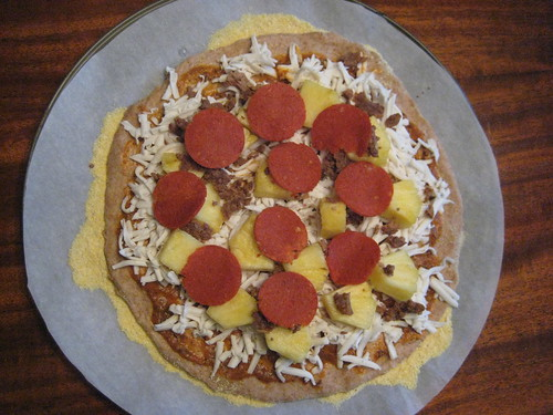 Pineapple and Pepperoni (Before)
