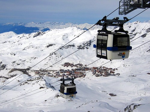 One of the telepheriques at Val Thorens.