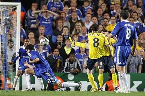 Gol de Iniesta 1
