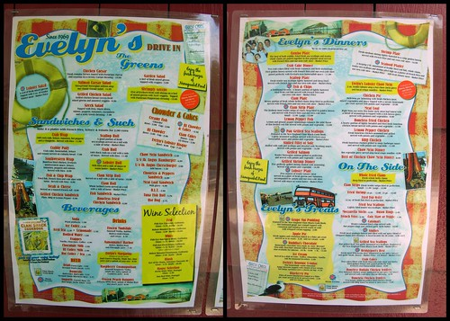 Evelyn's Drive In, Tiverton RI by you.