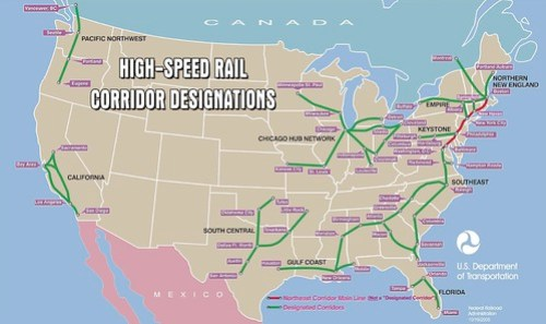 High Speed Rail proposal