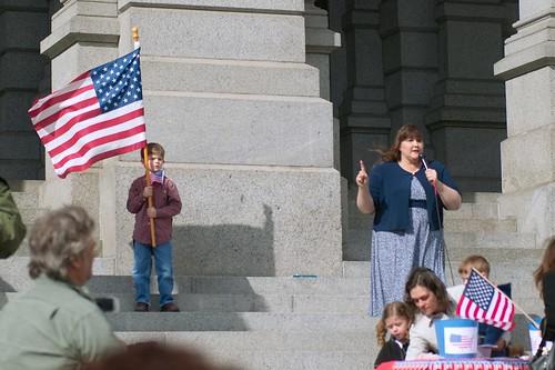 Jenny Hatch Speaks at First Denver Tea Party - Kendall Helmstetter  Gelner